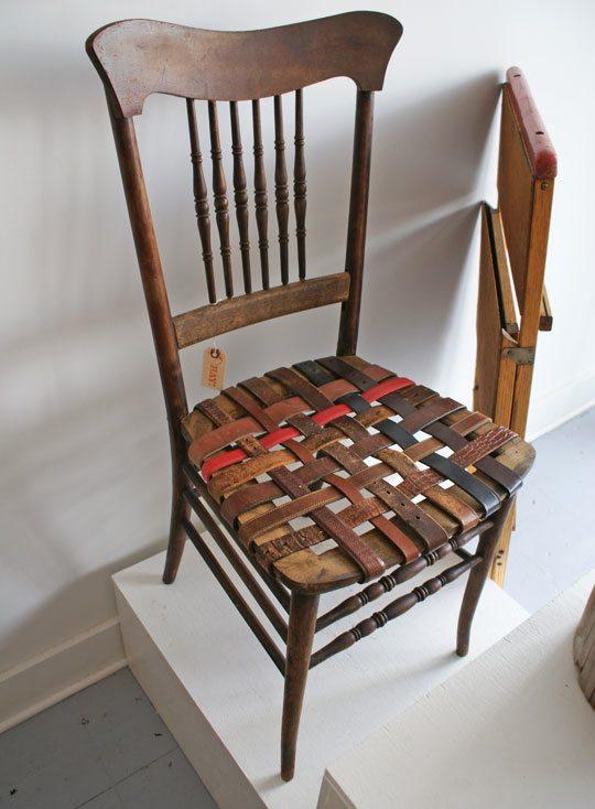 Wooden Belt Chair