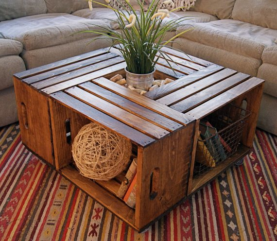 Wine crate coffee table directions yahoo