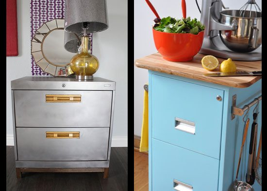 Filing Cabinet Upcycle – 2 ways!
