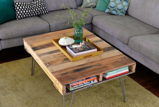 Pallet Coffee Table Upcycle That