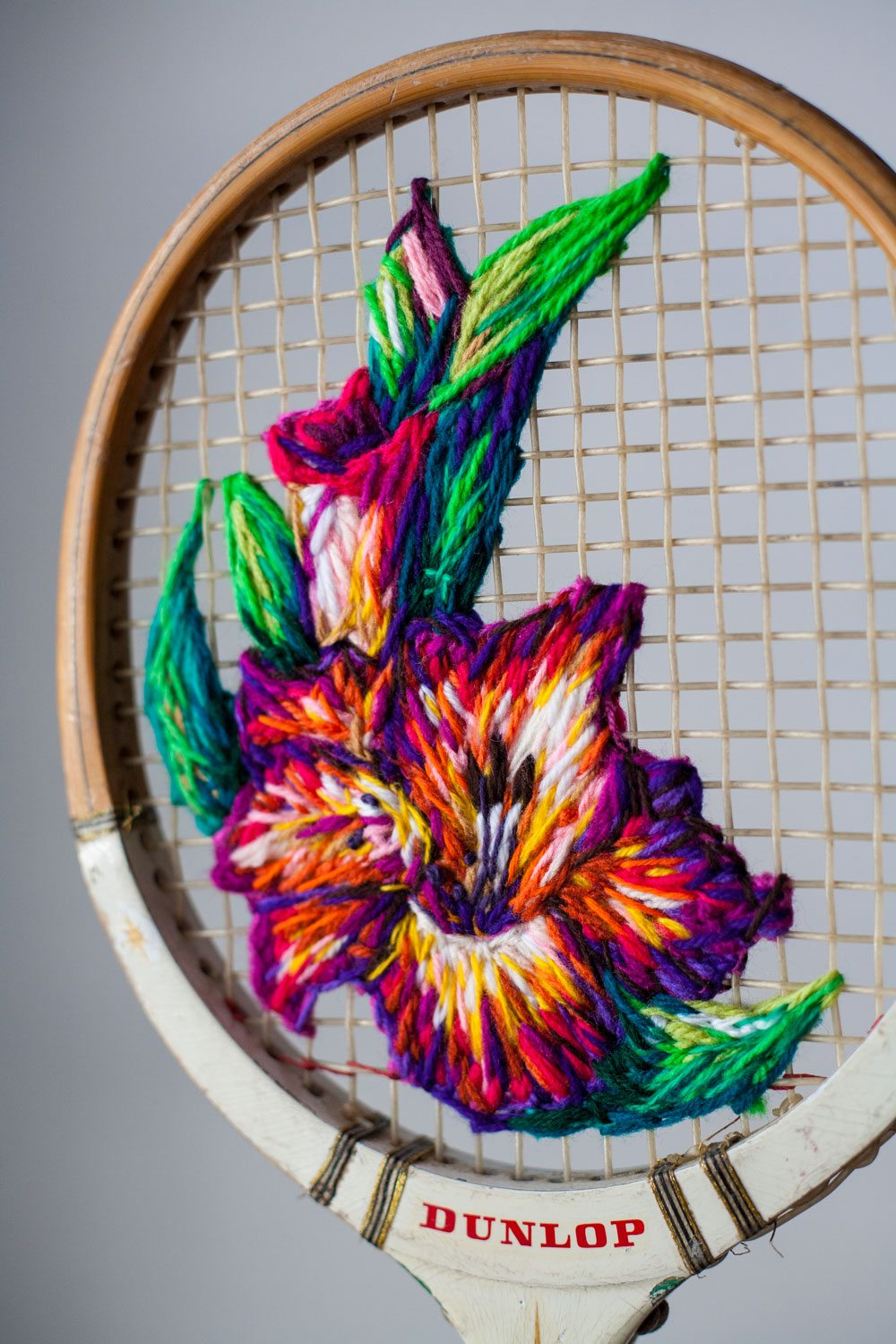 Tennis Rack Art