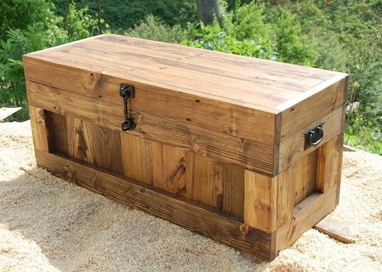 pallet hope chest