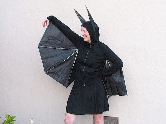 Halloween Costume Idea - Bat