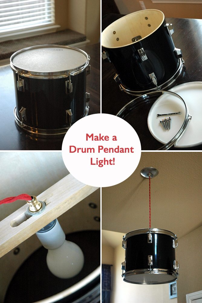 Drum Light DIY