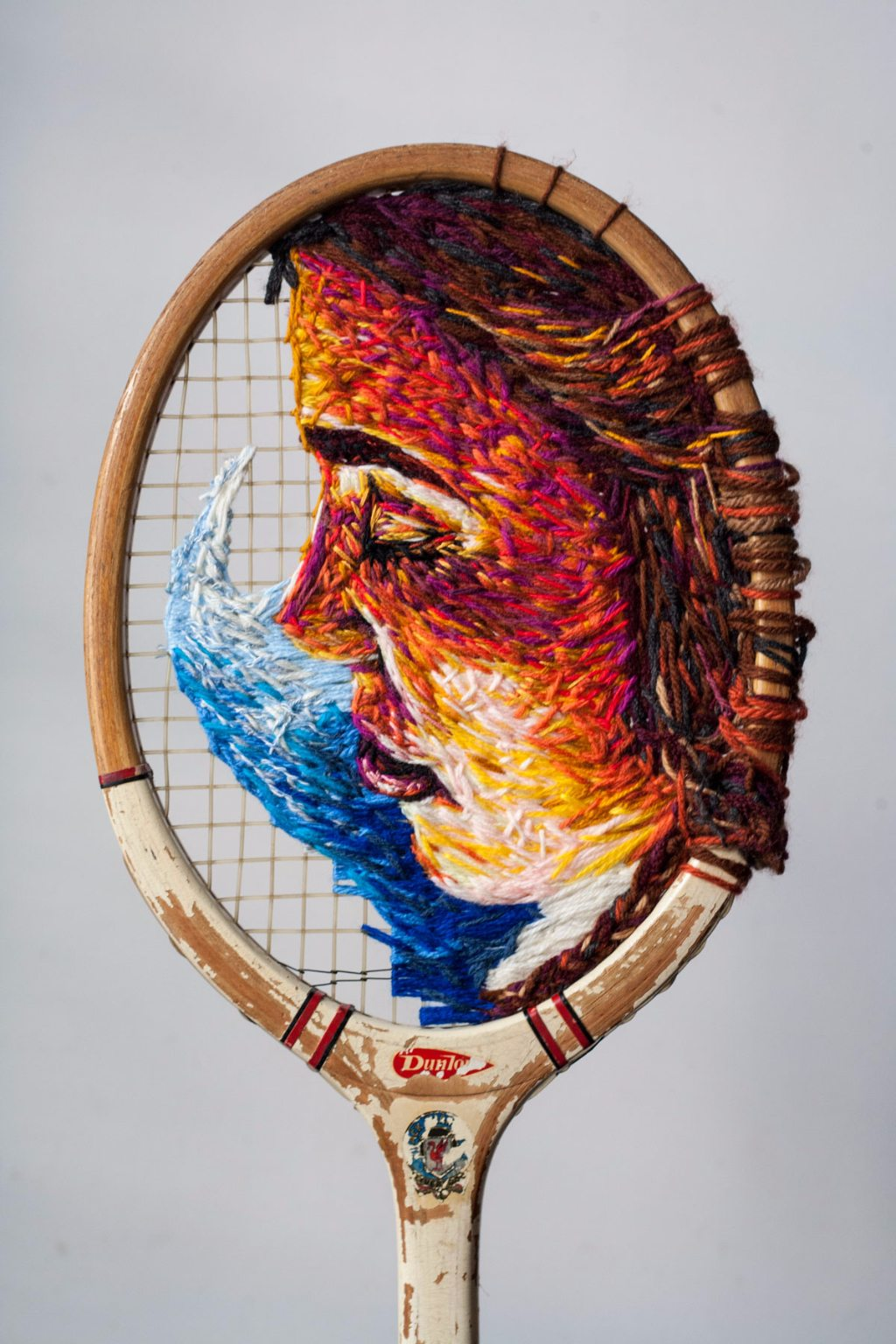 Tennis Racket Art