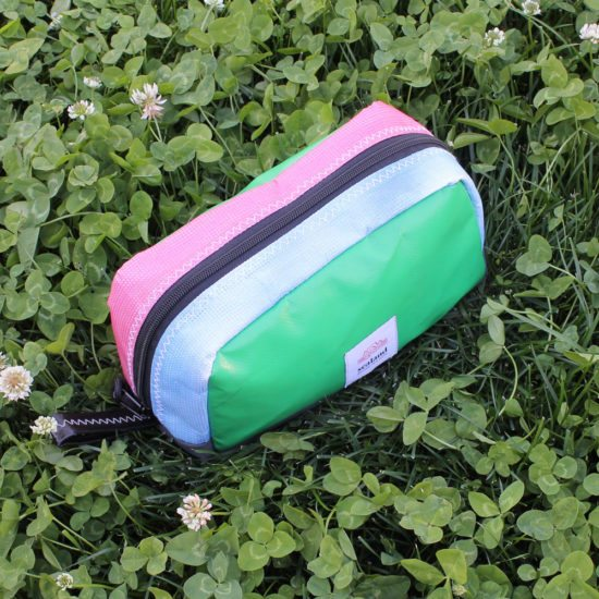 Toastie Pouch – Green, Pink & Blue
