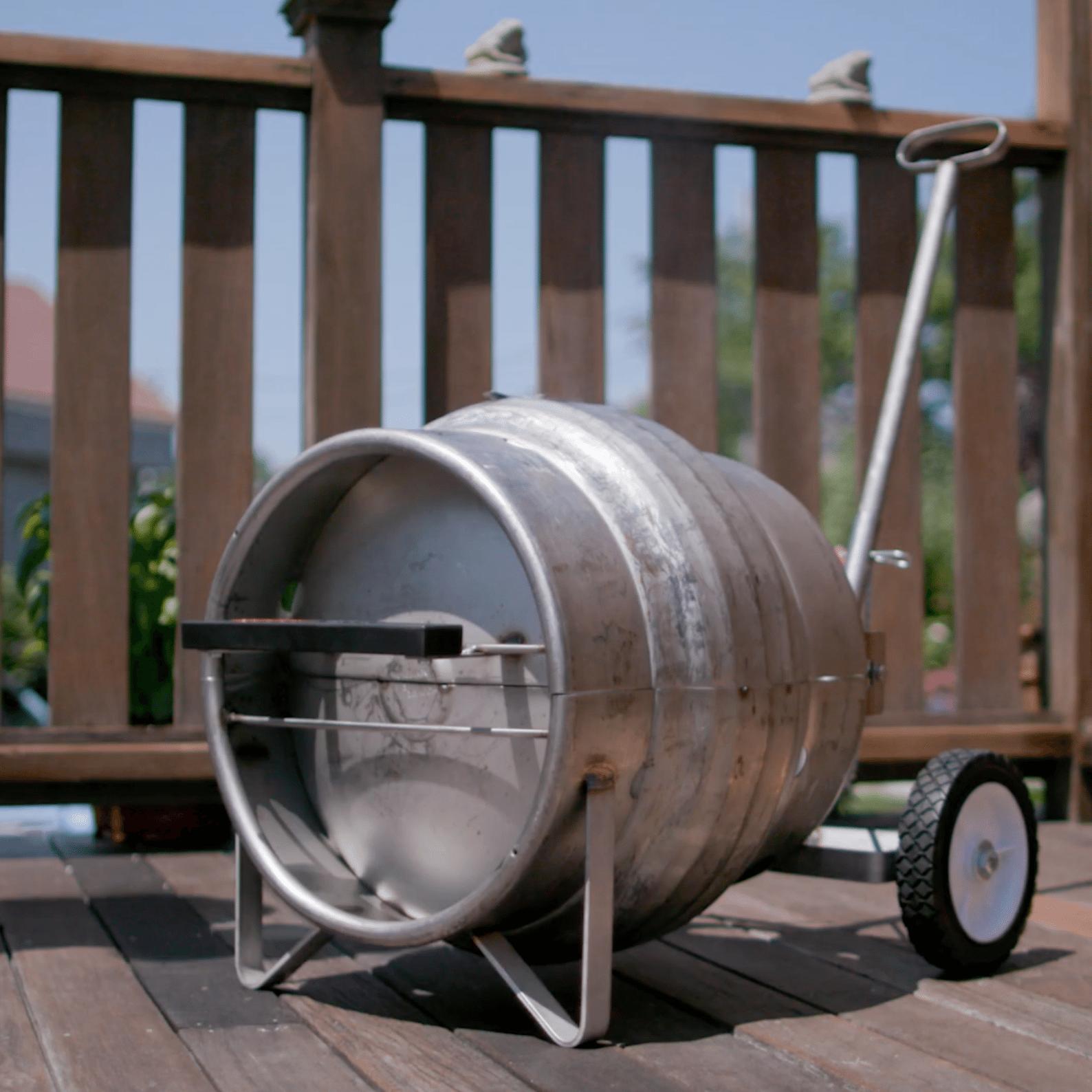 Beer Keg BBQ