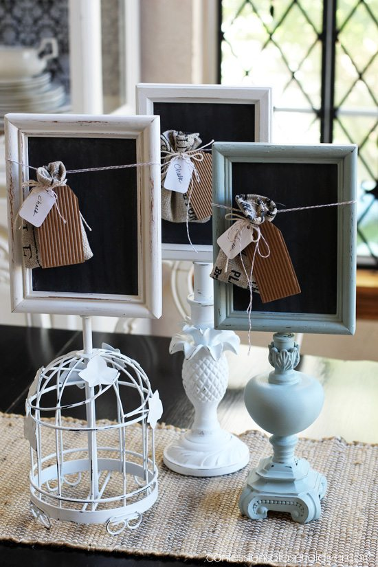 Repurpose Old Picture Frames - Picture Frame Message Boards