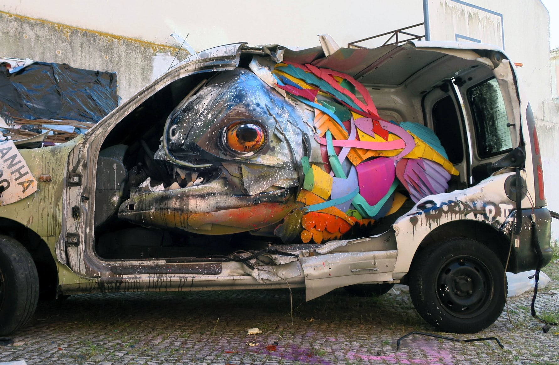 Trash animal - Bordalo II