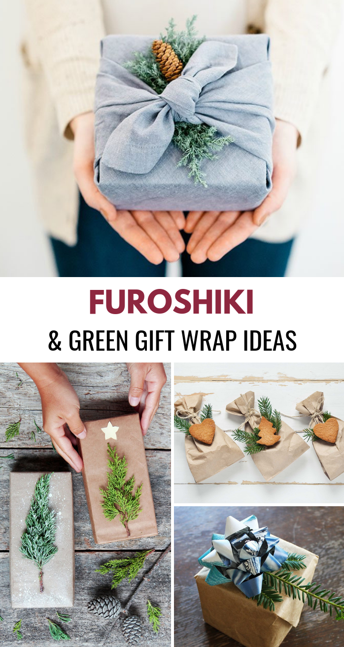 Furoshiki and Green Wrapping Paper Ideas